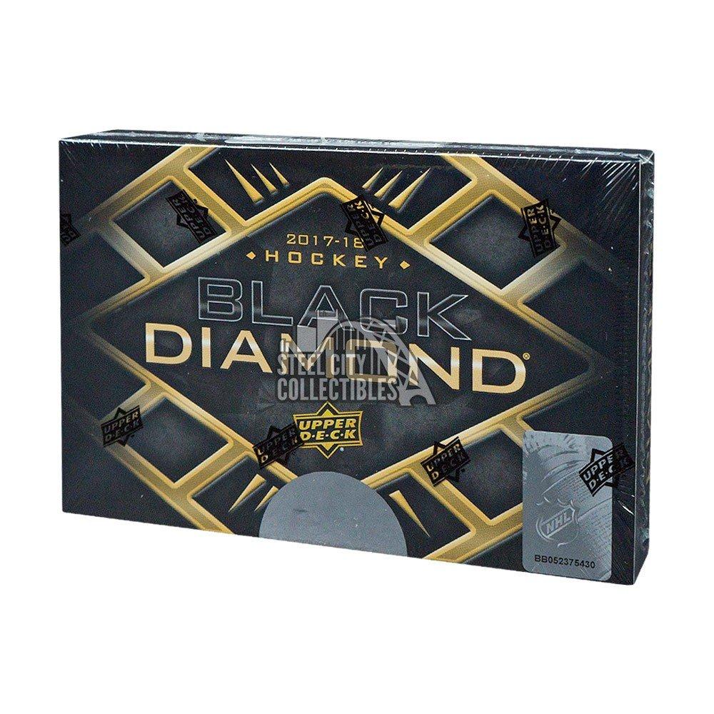 2017 18 Upper Deck Black Diamond Hockey Hob Box inside dimensions 1000 X 1000