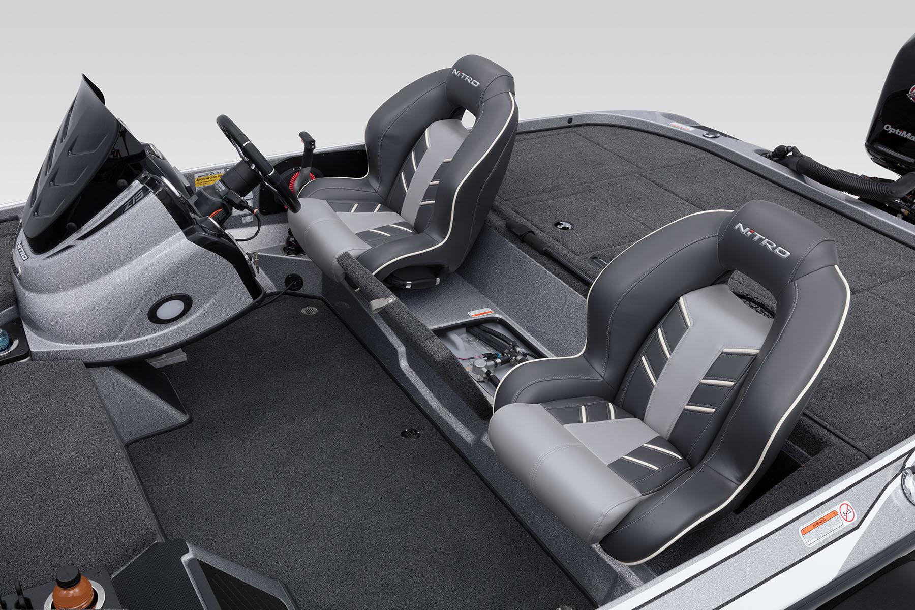 2018 Nitro Z19 Bass Boat inside measurements 1800 X 1200