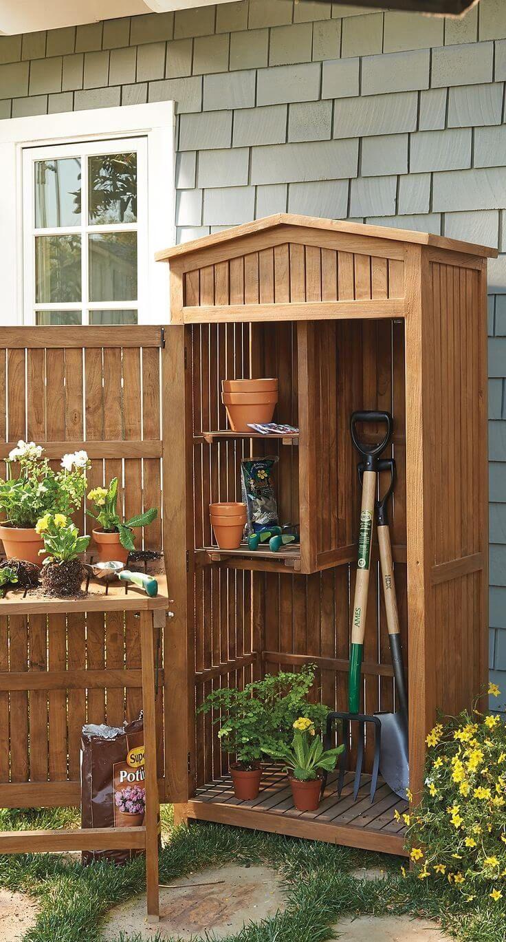 Small Deck Storage Ideas