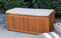 Belham Living Brighton 48 In Outdoor Storage Deck Box With Cushion for size 3200 X 3200