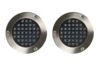 Blooma Lelantos Silver Effect Led External Solar Deck Light Pack Of 2 pertaining to dimensions 4000 X 4000