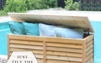 Build A Diy Outdoor Storage Box Build Basic intended for dimensions 950 X 1100
