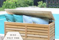 Build A Diy Outdoor Storage Box Build Basic throughout proportions 950 X 1100