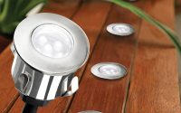 Cavetto Led 6 Light Colour Changing 35mm Round Deck Light Kit for size 800 X 1200