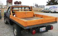Custom Hand Built All Wooden Truck Bed Made From Recycled Barn throughout sizing 4000 X 3000