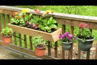 Deck Railing Planter Boxes Ideas Designdiary Deck Railing intended for measurements 1024 X 768