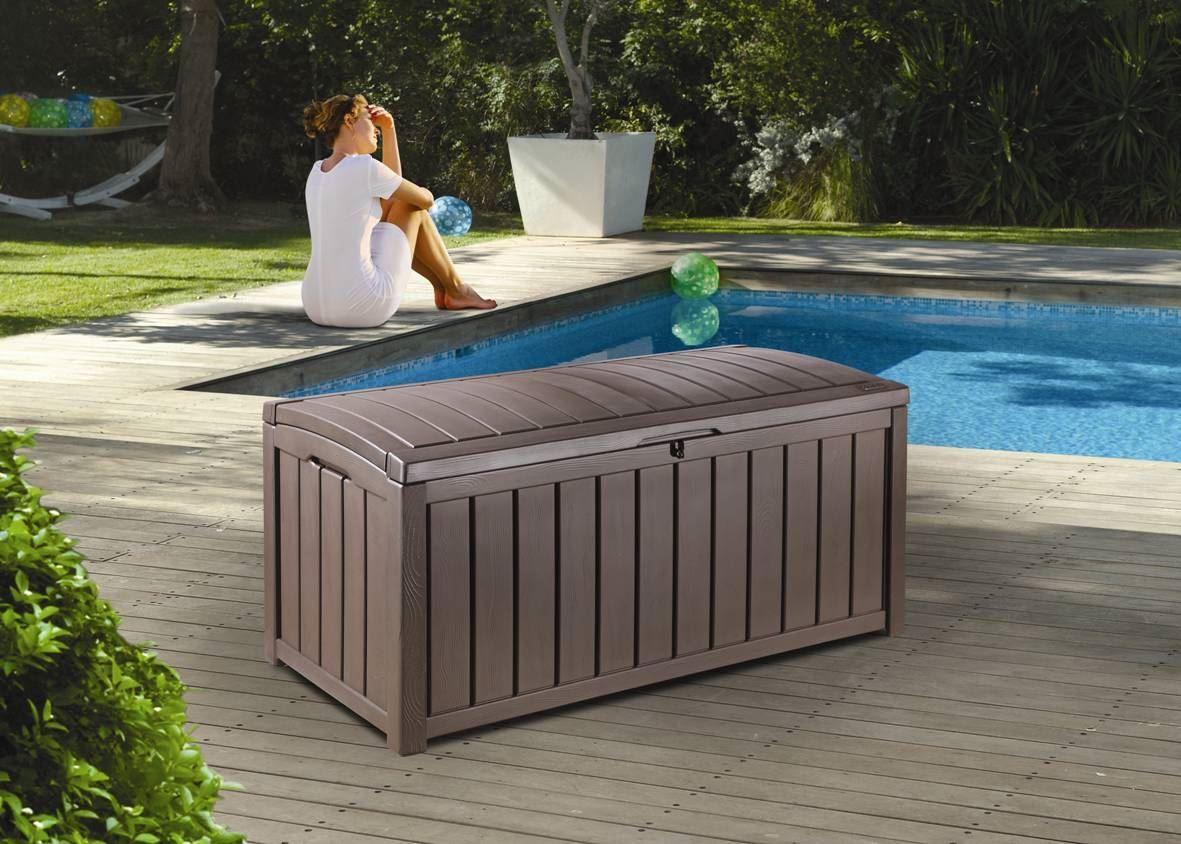 Glenwood Deck Box Keter in dimensions 1181 X 844