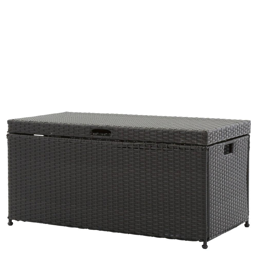 Jeco Black Wicker Patio Furniture Storage Deck Box Ori003 D The for sizing 1000 X 1000