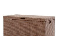 Jeco Honey Wicker Patio Furniture Storage Deck Box Ori003 C The intended for proportions 1000 X 1000