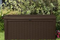 Keter Borneo 110 Gallon Resin Deck Box Reviews Wayfair pertaining to dimensions 2121 X 2121