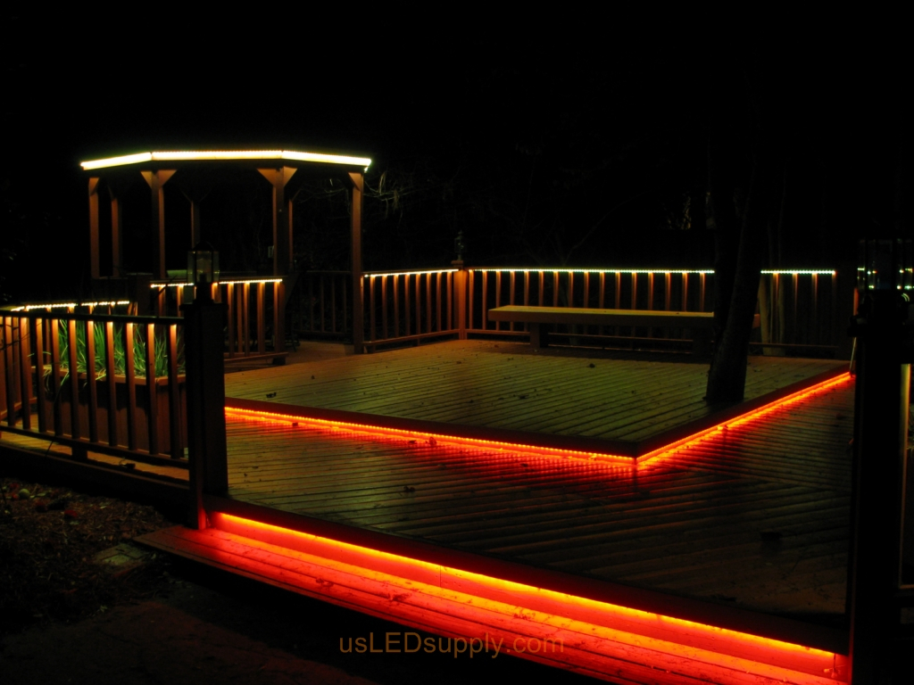 Led Under Rail Deck Lighting