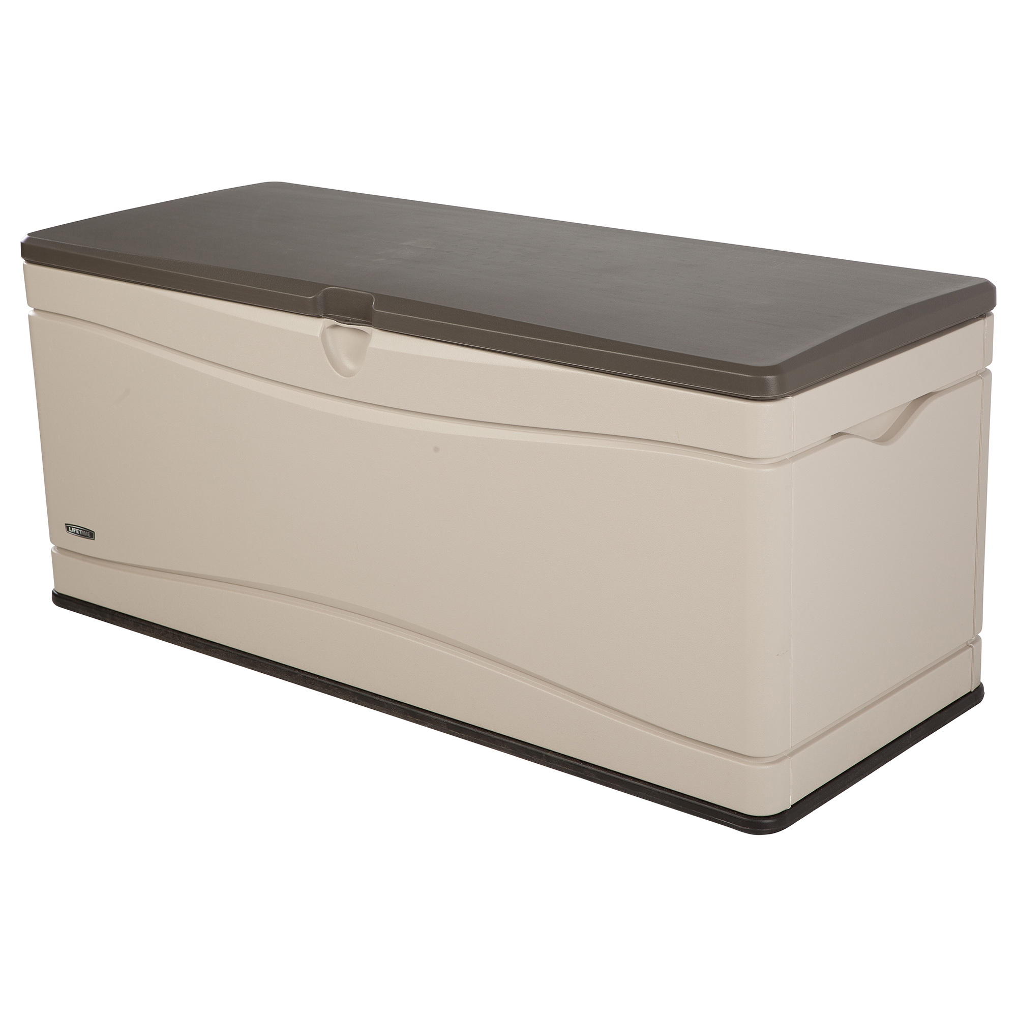 Lifetime Outdoor 130 Gallon Deck Storage Box 60012 Walmart in dimensions 2000 X 2000