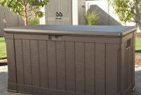 Lifetime Outdoor Storage Box 116 Gallon 60089 Walmart for sizing 2000 X 2000