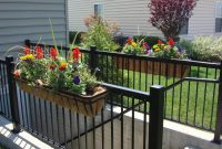 Metal Railing Planters Diy Hotelpicodaurze Designs with size 1024 X 768