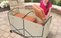 Outdoor Cushion Storage Box On Wheel Storage Ideas Go Very Well inside sizing 1000 X 1000