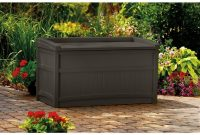 Outdoor Storage Bench 50 Gallon Deck Box With Seat Patio Furniture throughout proportions 1000 X 1000