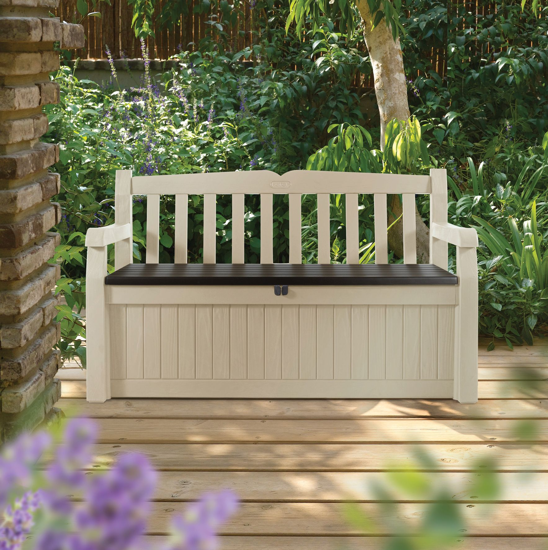 Outside Storage Bench Seat Catalunyateam Home Ideas Treatment inside proportions 1767 X 1772