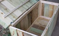 Pin Backyard Decks On Building A Deck Storage Bench With within sizing 2592 X 3888