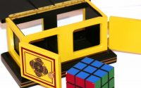 See Thru Rubiks Cube Box Small Mel Babcock Martins Magic throughout sizing 900 X 900