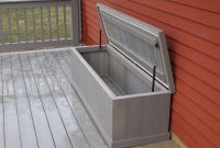 Slow Close Hinge Decks R Us Waterproof Storage Bench With Slow Close for measurements 1200 X 896
