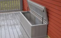 Slow Close Hinge Decks R Us Waterproof Storage Bench With Slow Close with sizing 1200 X 896
