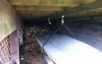 Storage Under Deck Ideas Under Deck Kayak Storage System Cabin with measurements 2592 X 1936