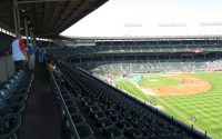 The Upper Deck Seats At Wrigley Field Chicago Il Augu Flickr throughout size 1024 X 768