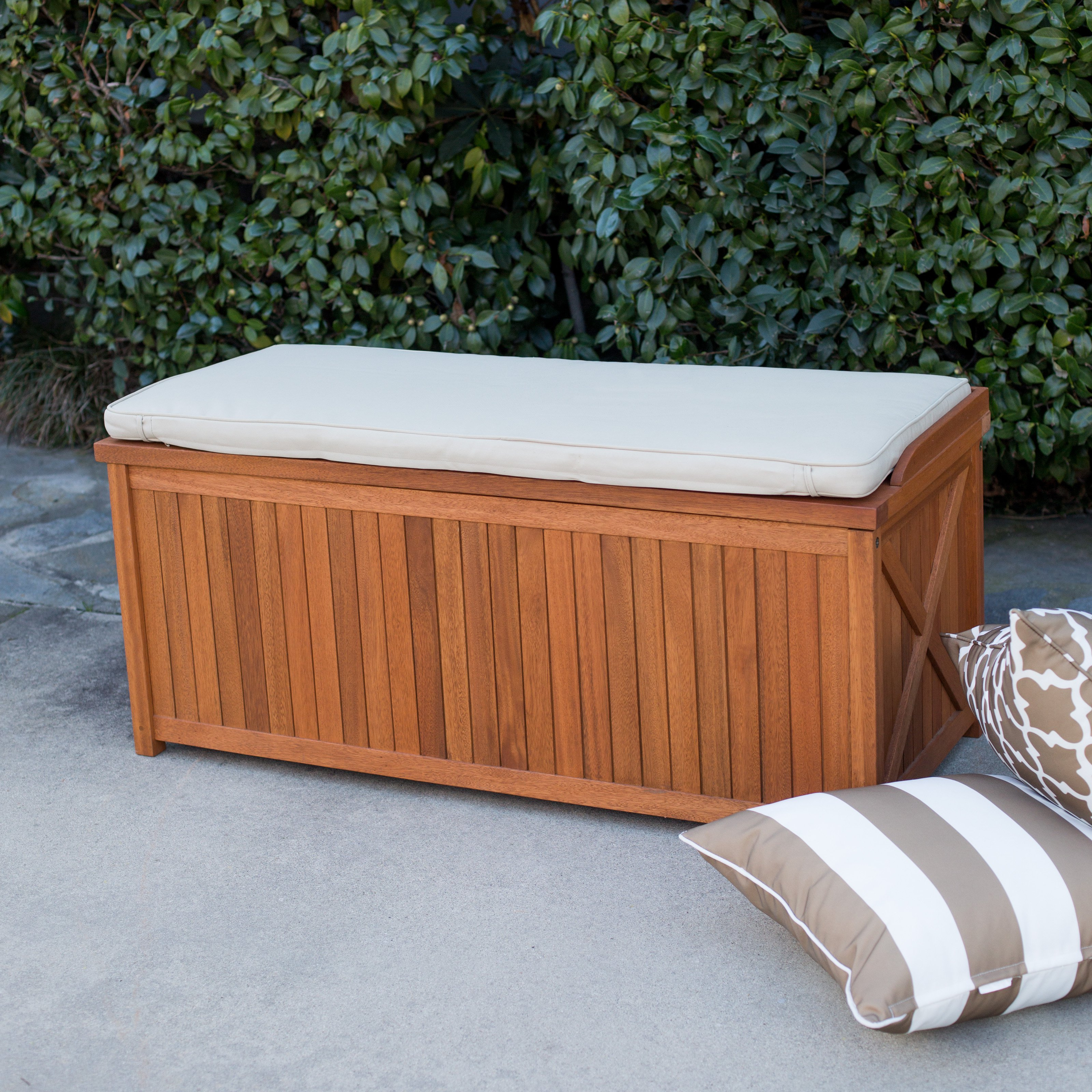 Waterproof Deck Box For Cushions Decks Ideas Pertaining To Size 3200 X