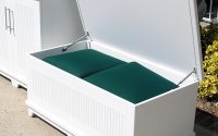 Waterproof Outdoor Cushion Storage Box Idea Bistrodre Porch And inside sizing 1024 X 1099