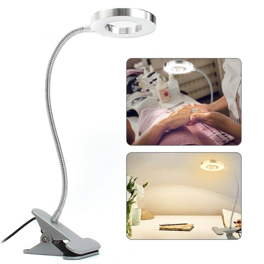 Best Desk Lamp For Nail Tech Deck Storage Box Ideas