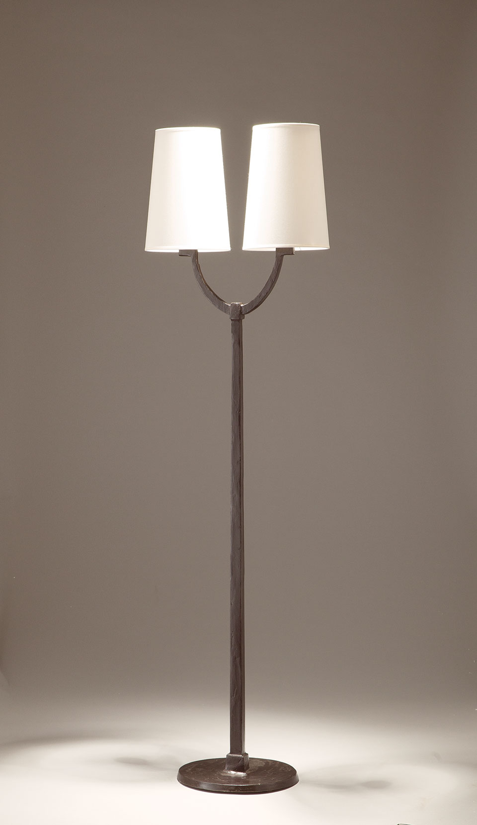 Floor Lamp Slim Foot And White Conical Lampshade Matching Lamp And Wall Lamp in measurements 960 X 1660
