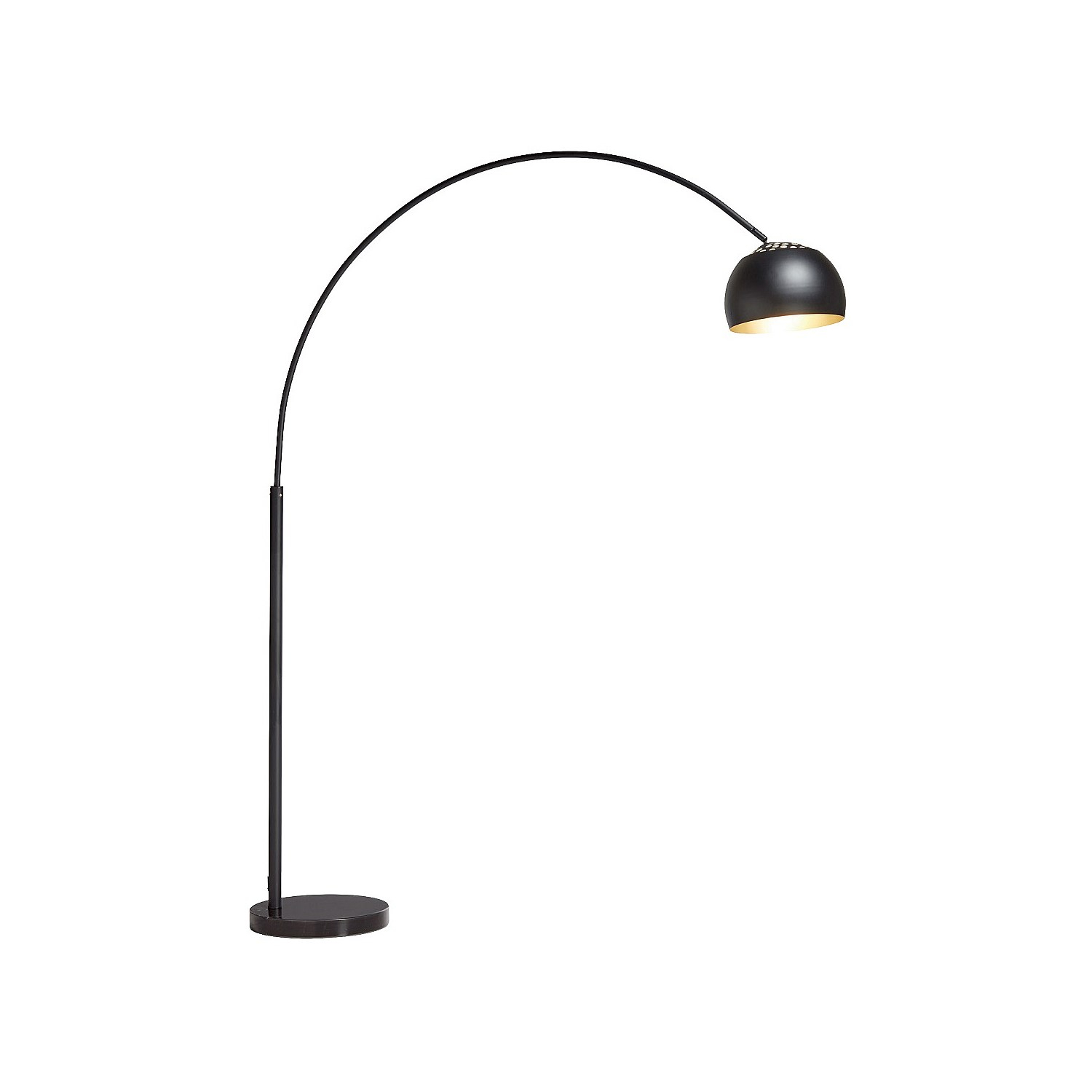 Freedom Athis Floor Lamp Pi Black with proportions 1500 X 1500