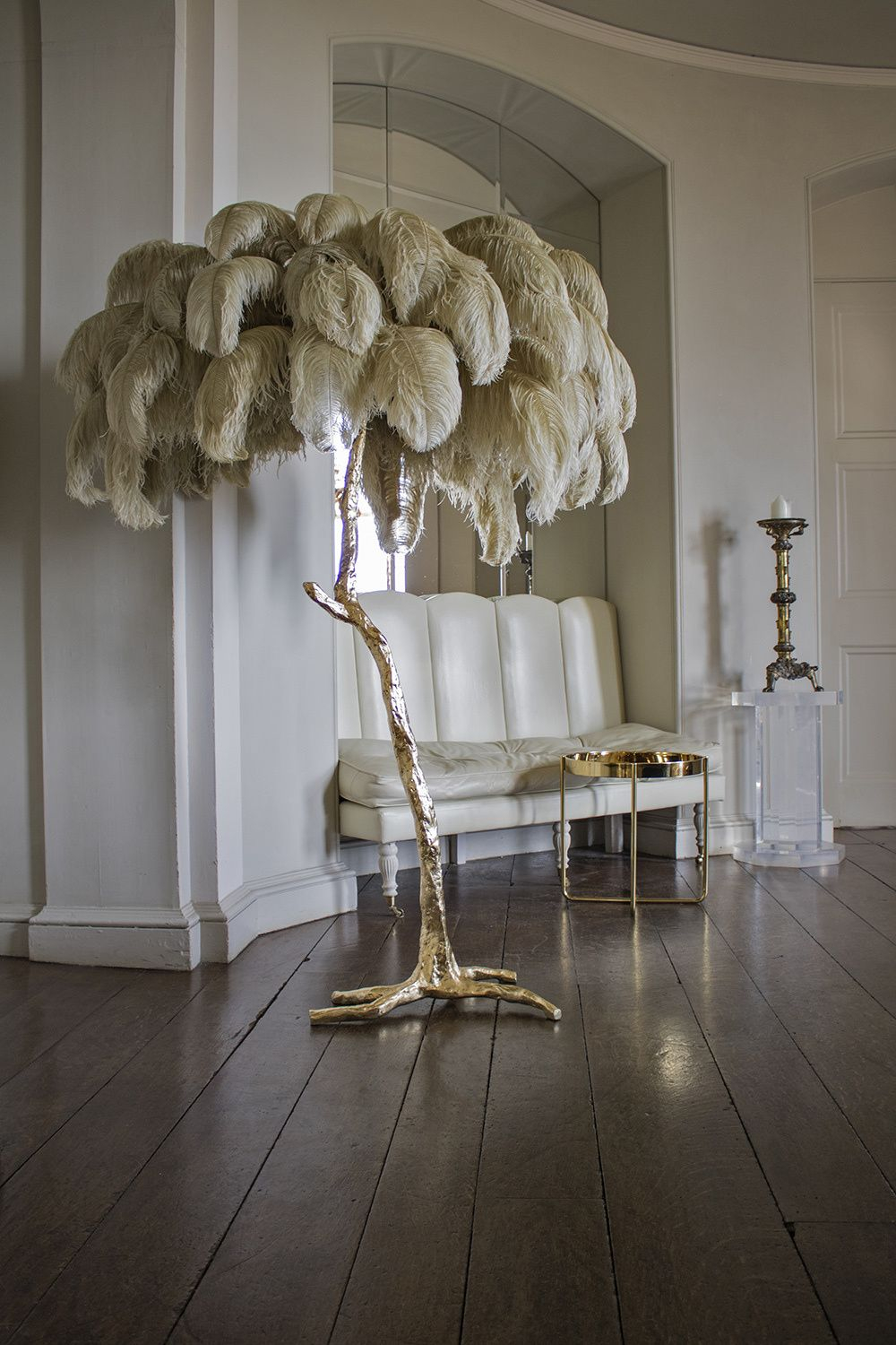 Hollywood Regency Style Palm Tree Floor Lamp Hand Made In for sizing 1000 X 1500