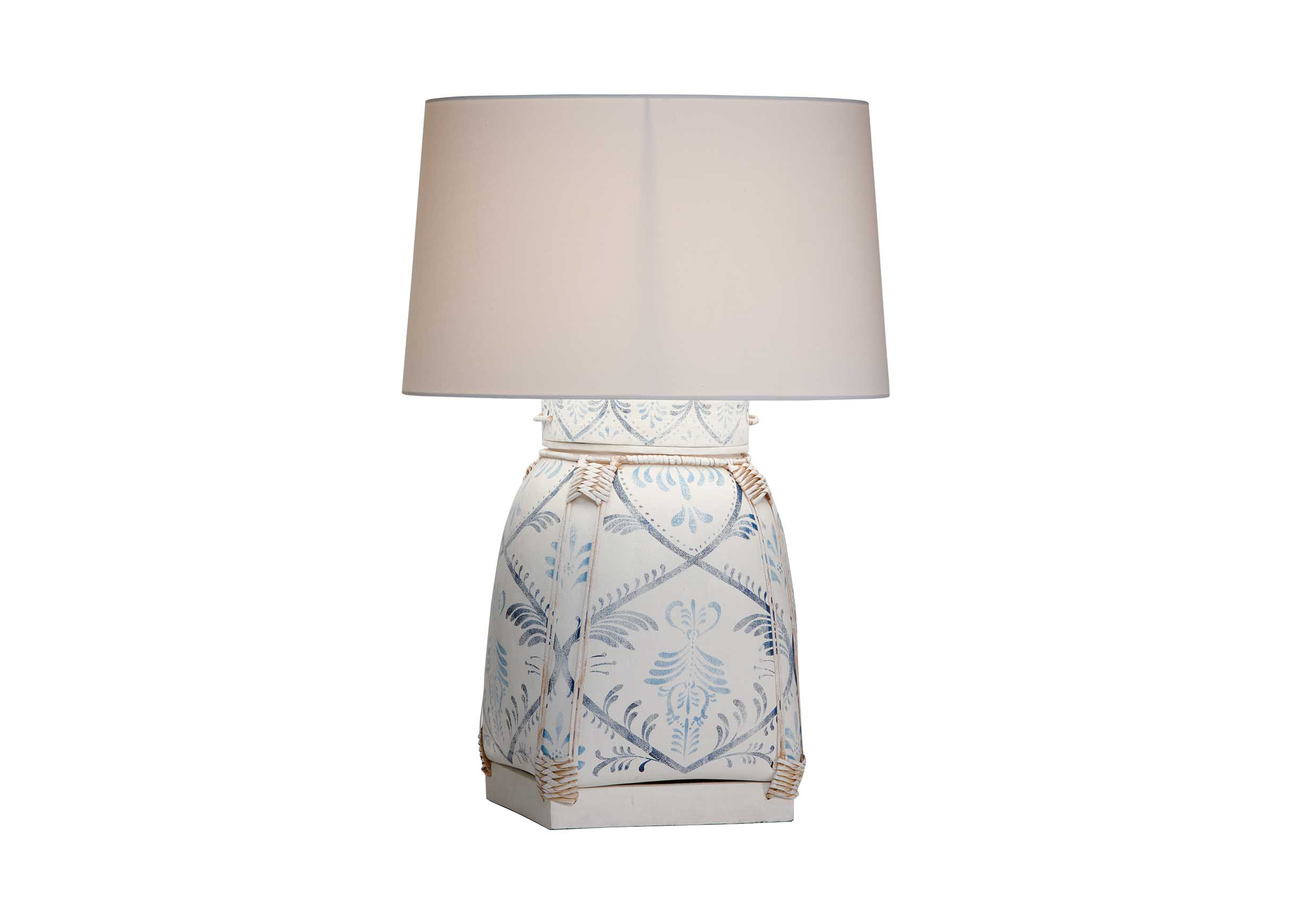 Jasmine Blue Bamboo Table Lamp Table Lamps Ethan Allen inside sizing 2430 X 1740