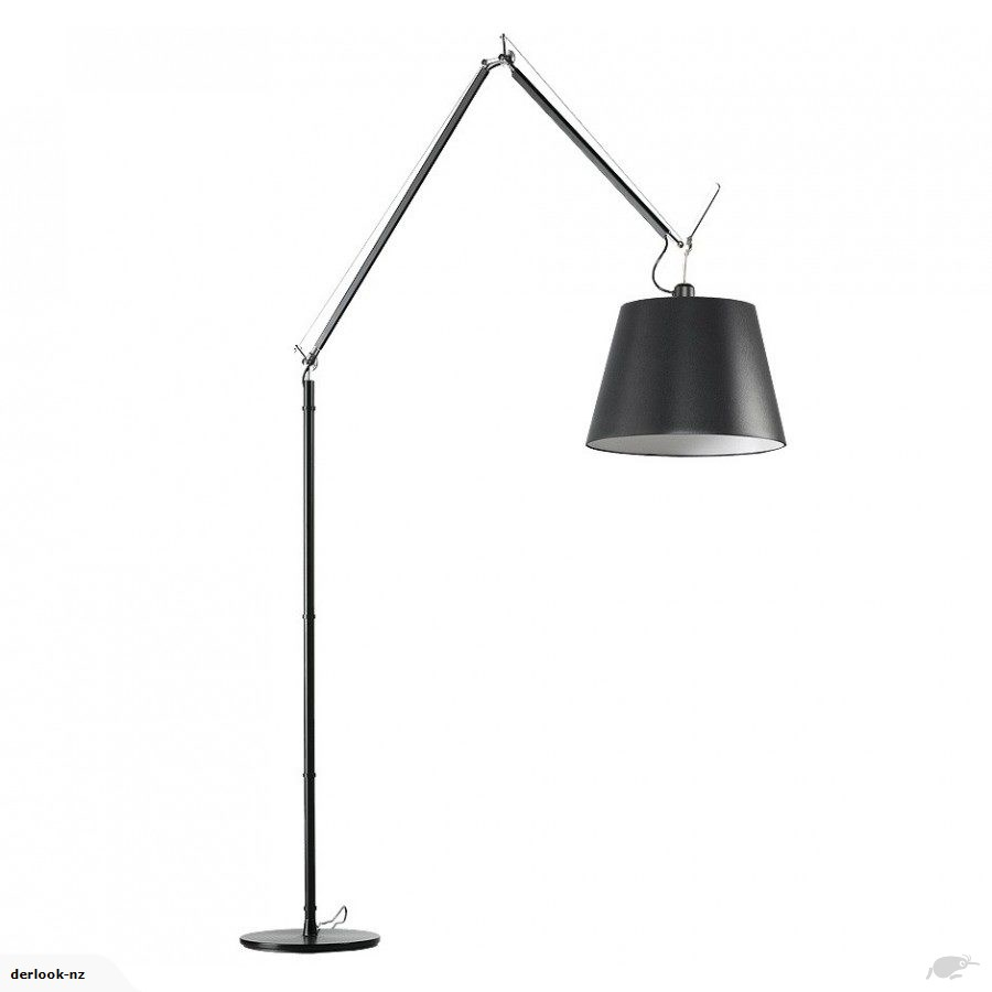 Tolomeo Floor Lamp Black intended for dimensions 900 X 900