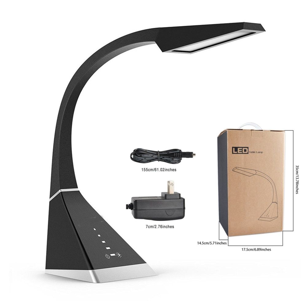Us 5999 Best Desk Lamp Eye Caring Touch Control Led Study Lamps Dimmable Office Lamp 8w 3 Color Modes 5 Adjustable Brightness Levels In Led Table in size 1000 X 978