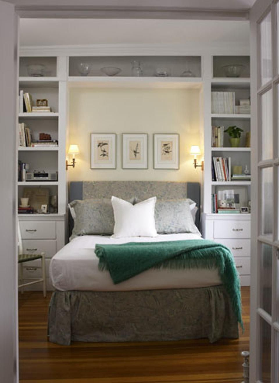 10 Tips To Make A Small Bedroom Look Great Home Bedroom throughout size 960 X 1318