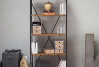 5 Shelf Bookcase With Fir Wood Shelves 68 Inch Tall In inside size 1500 X 1500