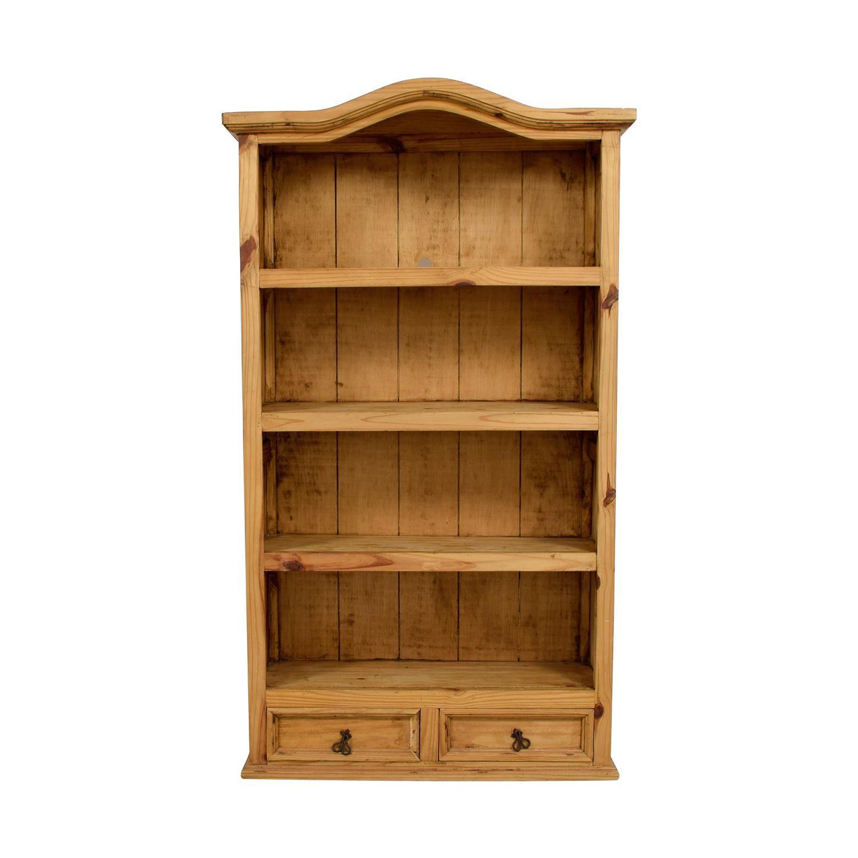 90 Off Solid Wood Bookshelf Storage regarding size 1500 X 1500