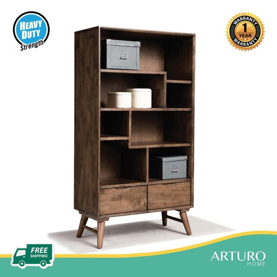 Arturo Lebron I Shelf Bookshelf Bookcase Shelves Mid Century Design Retro Solid Wood Free Shipping To West Malaysia intended for proportions 900 X 900
