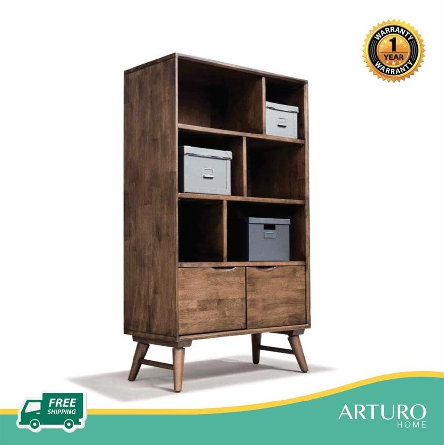 Arturo Lebron Ii Shelf Bookshelf Bookcase Shelves Mid Century Design Retro Solid Wood Free Shipping To West Malaysia for sizing 898 X 900