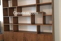Bookshelves Modern Teak Book Cases Supplier In Selangor inside measurements 810 X 1080