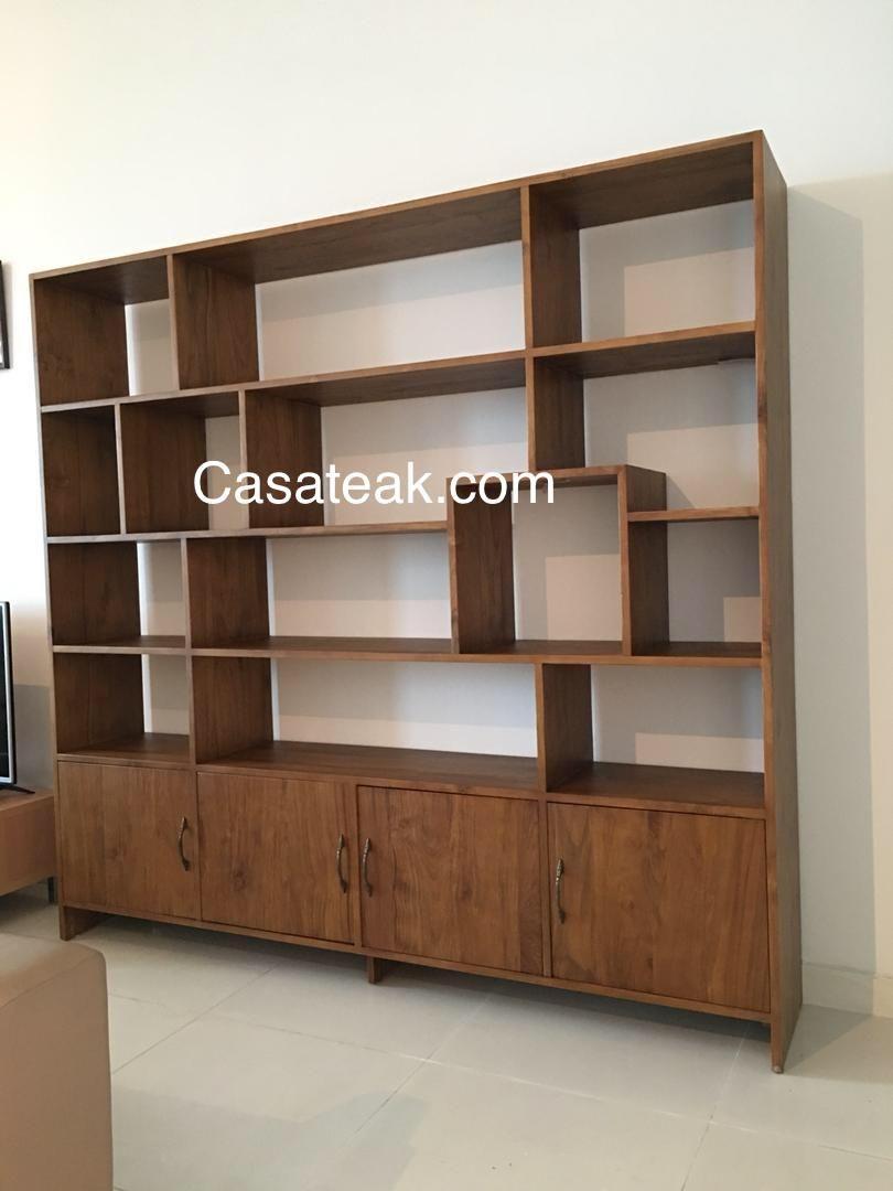 Bookshelves Modern Teak Book Cases Supplier In Selangor inside measurements 810 X 1080
