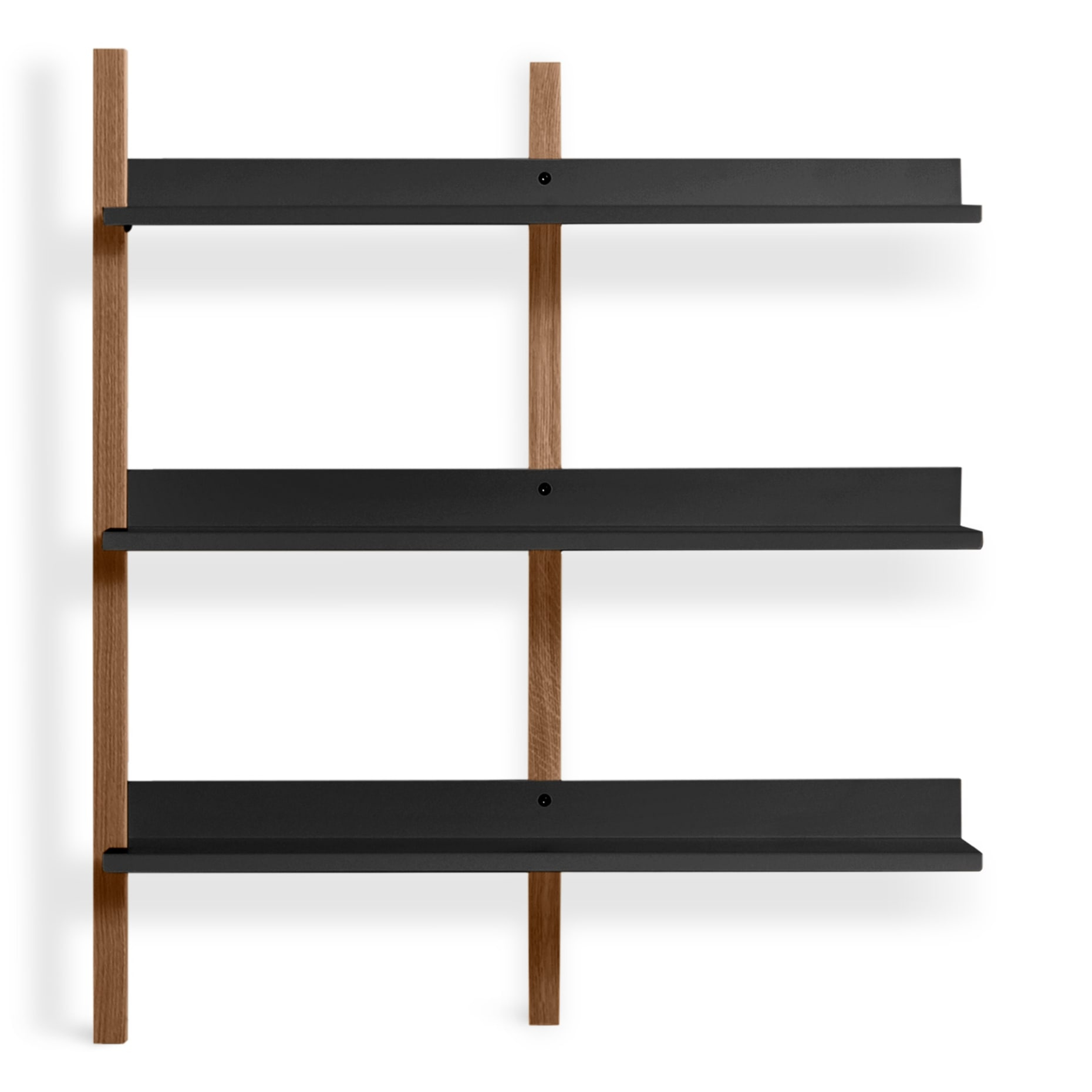 Browser Low Add On Bookcase with measurements 1860 X 1860