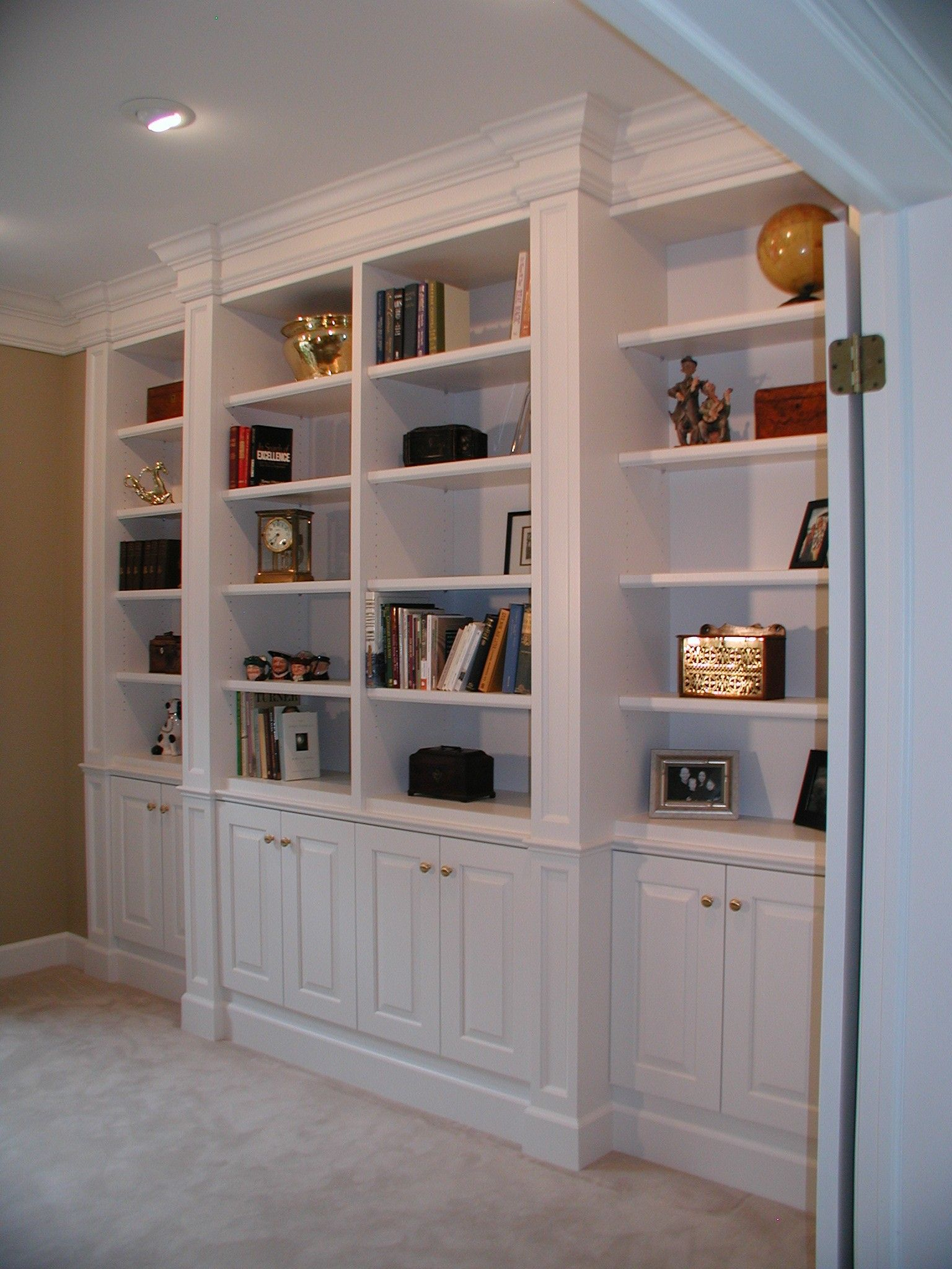 Built In Bookcase Designs 286 Custom Made Bookcases within measurements 1536 X 2048