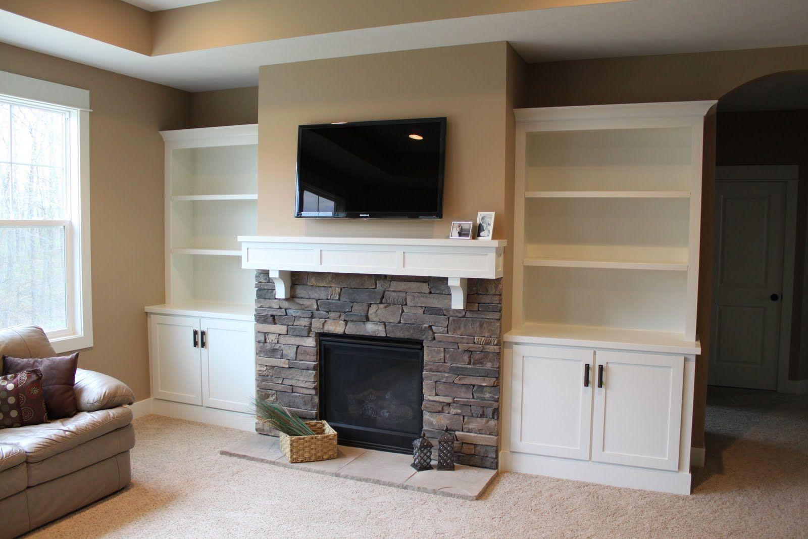 Built In Shelves Surrounding Fireplace Built In regarding proportions 1600 X 1067