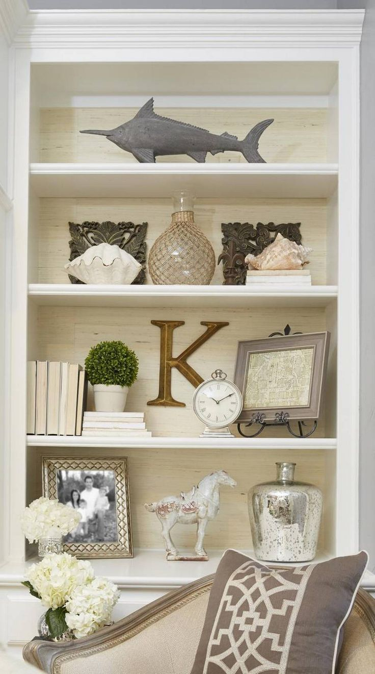 Create A Bookcase Piled High With Personality And Style within sizing 736 X 1321