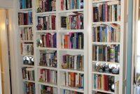 Custom Hallway Built In Bookcases Cristofir Bradley pertaining to sizing 2927 X 4790