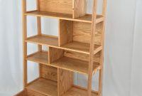 Custom Made Mid Century Modern Solid Wood Bookcase Allan throughout measurements 2238 X 3457