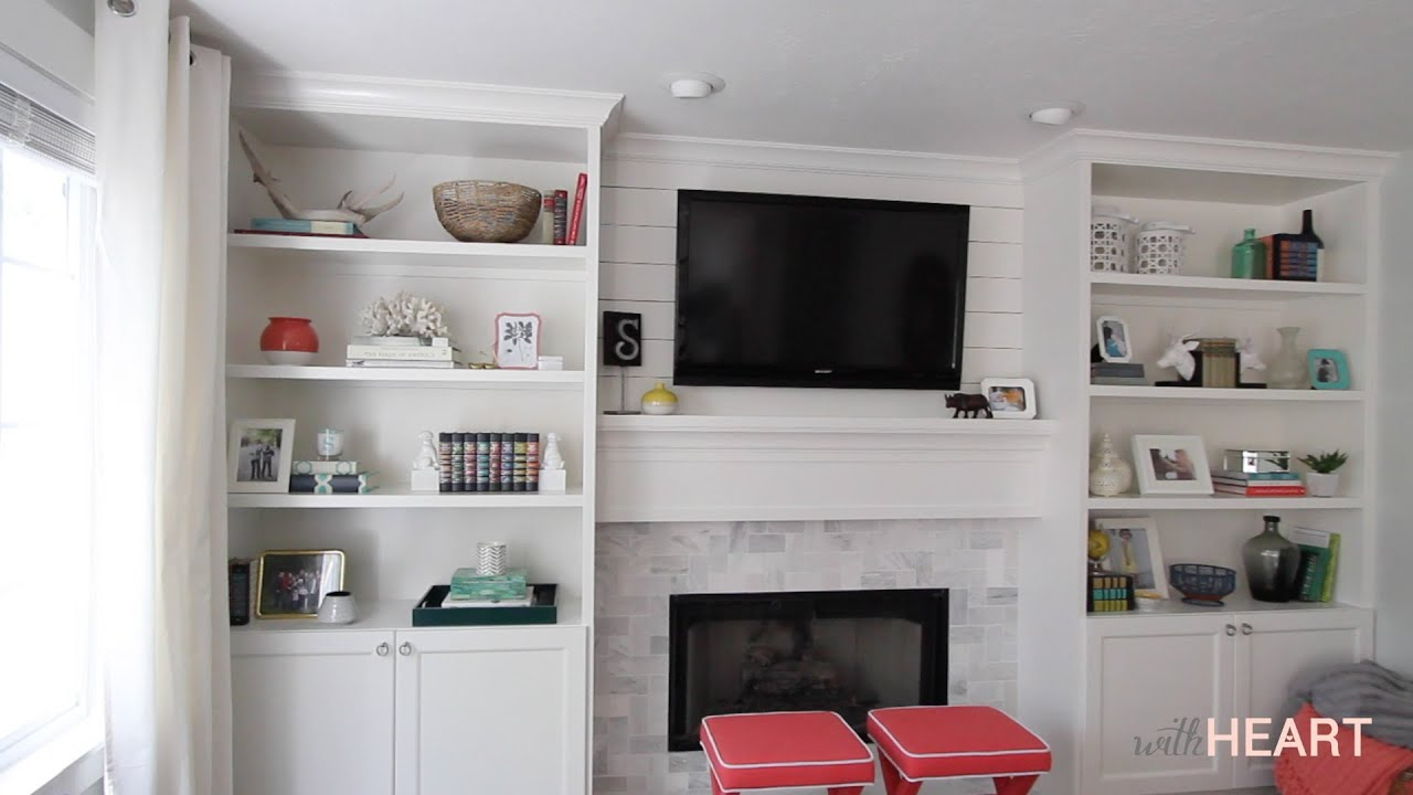 Diy Built Ins Part 2 Withheart for dimensions 1280 X 720